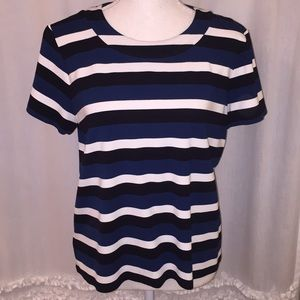 Ann Taylor Striped Top